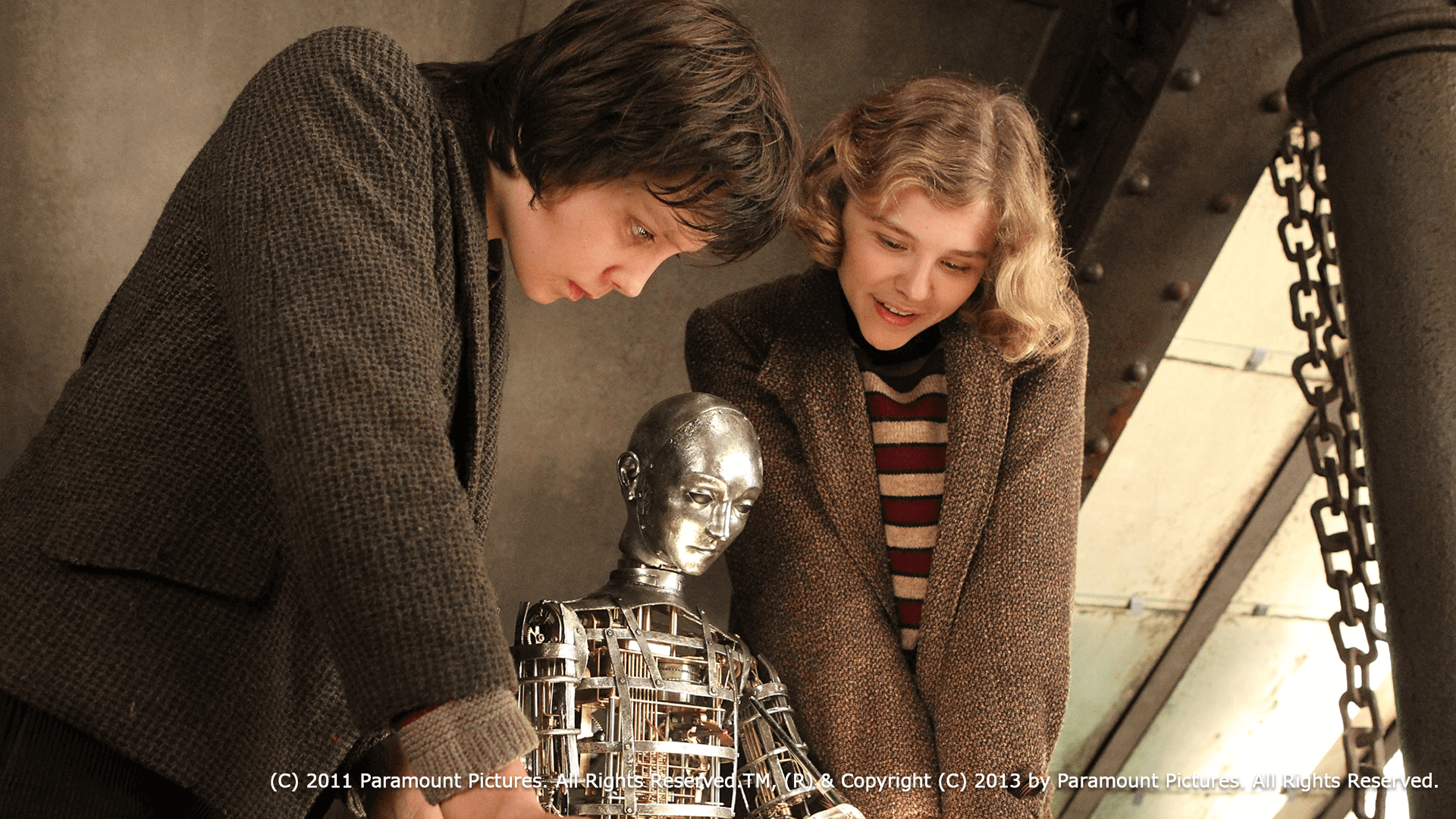 『ヒューゴの不思議な発明』 オートマトン(自動人形)の謎と幸福なフィナーレ