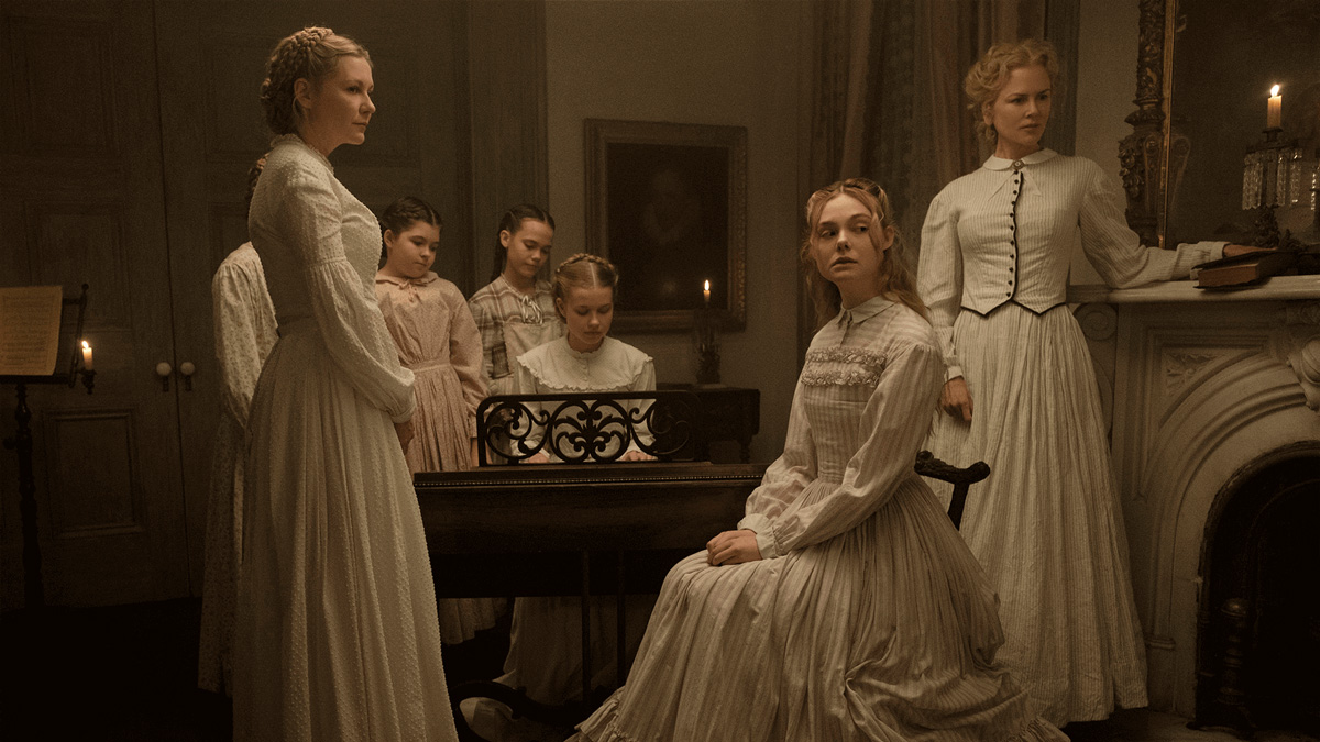 『The Beguiled / ビガイルド 欲望のめざめ』画面アスペクト比1.66:1がもたらす心理模様